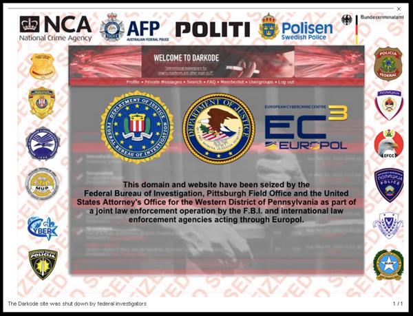 Darkode: FBI shuts down notorious online forum and cracks